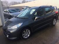 57 Peugeot 207 Sport 1.6 HDi SW (Estate) Diesel - Full MOT - Panoramic Glass Roof - PX WELCOME