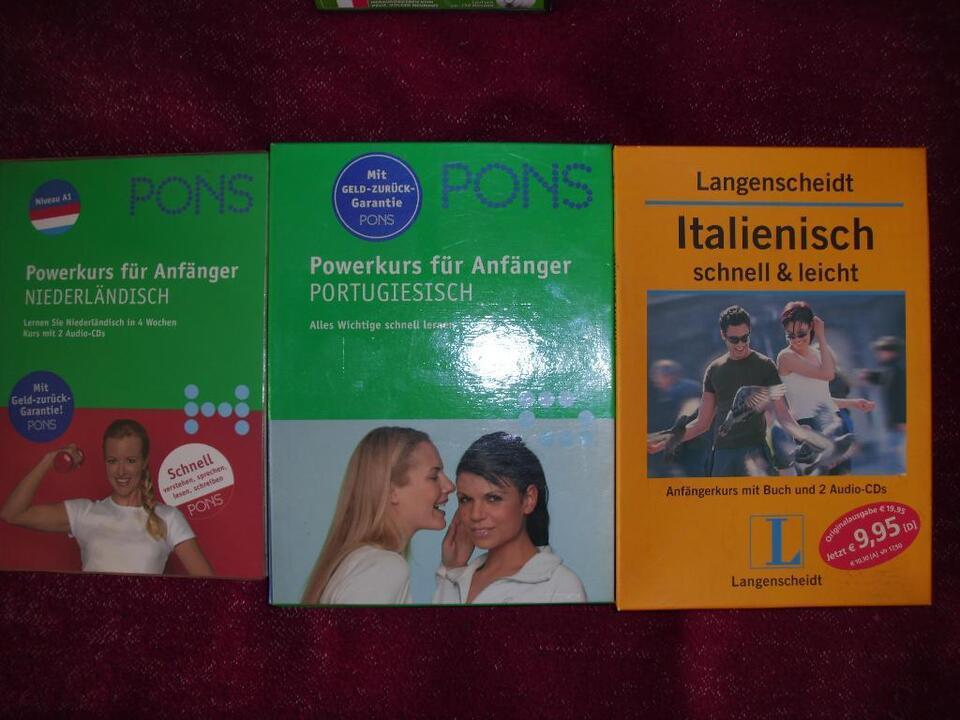 Sprachkurse Englisch , Spanisch, Französisch u.v.m. CDs Bücher in Berlin - Lichtenberg