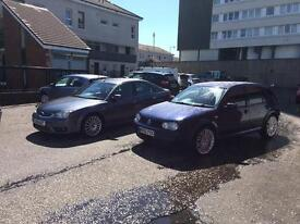 Ford mondeo st golf 4 motion swap