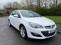 VAUXHALL ASTRA SRI 1.4 , 2013, 1 OWNER, SERVICE HISTORY , MOT APRIL 2022 ,3 MONTHS WARRANTY .