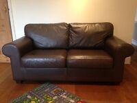 Ikea Ektorp 2 seater sofa leather
