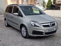 2006 VAUXHALL ZAFITA 1.6 i 16V LIFE, PETROL, MANUAL, 7 SEATER MPV, LONG MOT, CHEAP FAMILY CAR !!