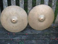 "Cymbals - Vintage Zyn 13"" Hi Hats"
