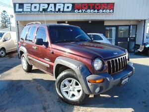 2004 Jeep Liberty Sport,4X4,Power Windows,**AS IS**