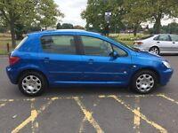 2004 54 plate Peugeot 307 1.4 16v Zest 5dr Low Insurance Group HPI Clear @07445775115