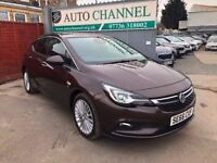 Vauxhall Astra 1.6 i 16v Turbo Elite Nav Hatchback 5dr (start/stop)
