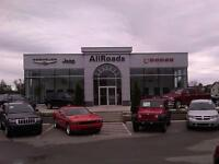 Suprime financing available from 6.99% AllRoads Dodge Chrysler