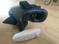 Virtual Reality Headset for phone with Android Bluetooth Remote Controller