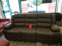 Recliner 3&2 seater sofa BRAND NEW