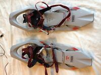 Tubbs Snowshoes excellent condition as new