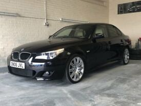 "2006 BMW 520D M SPORT 19"" SPYDER ALLOYS LEATHERS TURBO AND CLUTCH CHANGED 525D 530D"