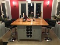 Bespoke Kitchen Island, designed to your specifications and handbuilt and hand delivered