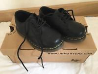 Black Dr.Martens Shoes Boys infant size 5