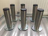 Wren Stainless Steel Furniture Legs Feet