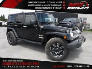 2011 Jeep Wrangler Unlimited Sahara - 4 portes - Full - Cuir - T