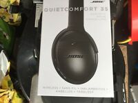 BOSE QUITE COMFORT 35 HEADPHONES BLACK £190