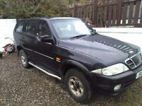 Ssangyong musso 2.9td 4x4 jeep