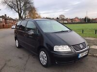 VW SHARAN 1.9 TDI AUTO - 7 SEATER, 1 YEAR PCO, 1 OWNER, CAMBELT + WATERPUMP CHANGED, FULLY SERVICED