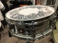 """Tama Swingstar snare 14""""x5.5"""" 1980's"""