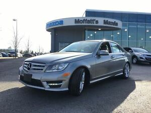 2013 Mercedes-Benz C300 4MATIC C300 AWD LEATHER, SUNROOF, HEATED