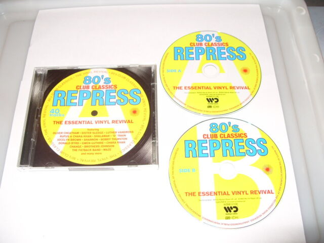 eighties Repress-80s  (80s Club Classics, 2003) 2 cd - OLD SKOOL FUNK/SOUL