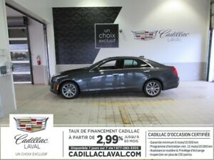 2018 CADILLAC CTS SEDAN 3.99% LUXURY TOIT PANO NAVI
