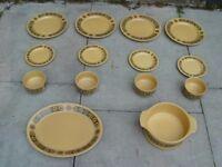 FREE DELIVERY Retro Kiln Craft Bacchus Mid Century Vintage Crockery