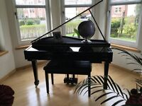 Electric Baby Grand Piano