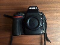 Nikon D810 body, boxed, rarely used.