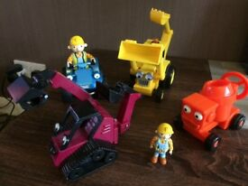 Bob the builder vehicles and characters