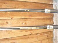 Wychwood Rouge 12ft 3.0 tc Carp rods (2x Rods)