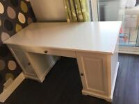 Ikea Hermes Desk with cupboards and drawers