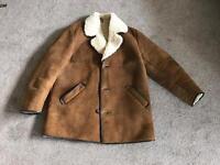 Vintage Woolea Genuine Sheepskin Coat