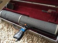 RYCOTE LONG SHOTGUN SYSTEM, includes basket, handle, wind jammer and flight case. BARGAIN.