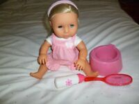 Classic Tiny Tears doll and Accessories - Shipley