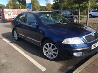 07 SKODA OCTAVIA 2.0 TDI LAURENT&KLEMENT TOP SPEC 1 OWNER WITH FSH DRIVES AND LOOKS GREAT 12 MTS MOT
