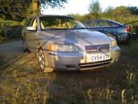 Volvo v70 2.4 manual for swap for land rover