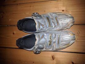Diadora road cycling shoes size 41