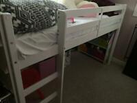 MIDI white child's bed