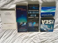 Dive books - assorted diving related books
