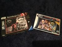 Two Star Wars Puzzles - excellent condition