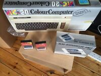 Vintage Commodore Vic 20 Home Computer & Cassette Tape Deck - Boxed - Untested