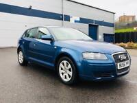 2006 AUDI A3 SE TDI 170 BHP - 6 SPEED WITH LEATHER - 5 DOOR