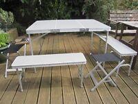 Hi Gear Elite Picnic Table Set