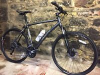 Whyte ridgeway 2016 men's hybrid bicycle . Immaculate with range of bike accessories