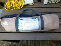 Camping 10T Sun Canopy TARP II Beige 400 x 400 cm