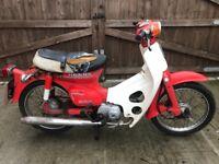 Honda c70 1982 not c90 - c50
