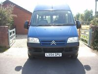 Citroen relay minibus with tail lift