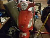 Piaggio fly125. Spares or Repair