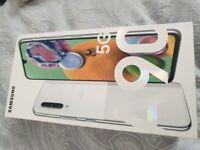 Samsung A90 128GB 5G Mobile Phone - White